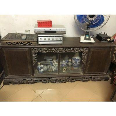 Mua sập gụ, tủ chè – Địa chỉ thu mua sập cũ, tủ chè cũ uy tín, giá cao Trang Chu