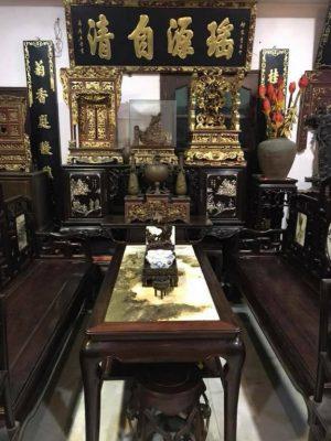 Thu mua đồ gỗ cũ huyện Phúc Thọ tại nhà 3