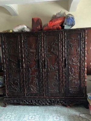 Mua tủ quần áo gỗ cũ – gỗ quý – các loại giá tốt Trang Chu