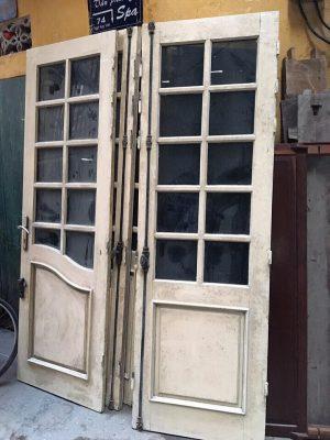 Thu mua cửa gỗ Lim, gỗ dổi, cửa gỗ cũ tại Hà Nội với giá cao