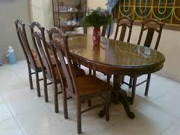 Bộ bàn ghế ăn 6 ghế gỗ nghiến
