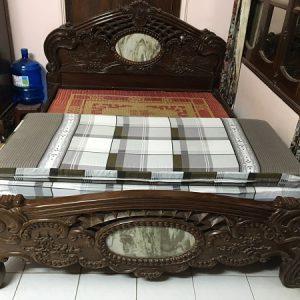 Giường gỗ gụ rát phản
